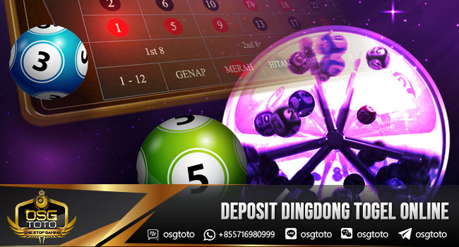 Deposit-Dingdong-Togel-Online