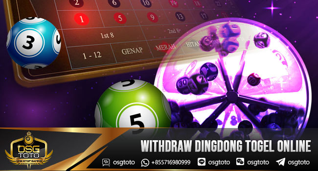 Withdraw-Dingdong-Togel-Online